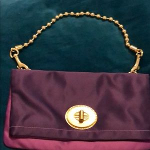 Two tone purple Coach bag